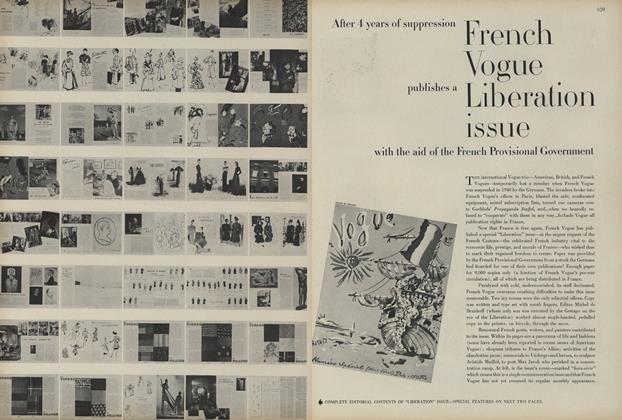 French Vogue Liberation Issue