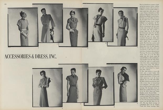 Accessories & Dress, Inc.