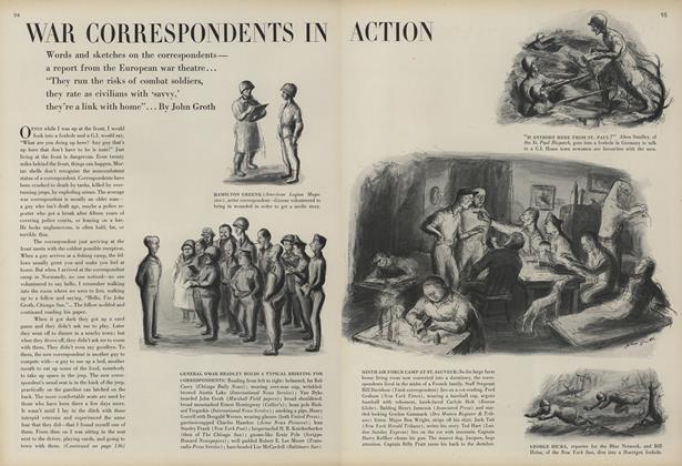 War Correspondents in Action