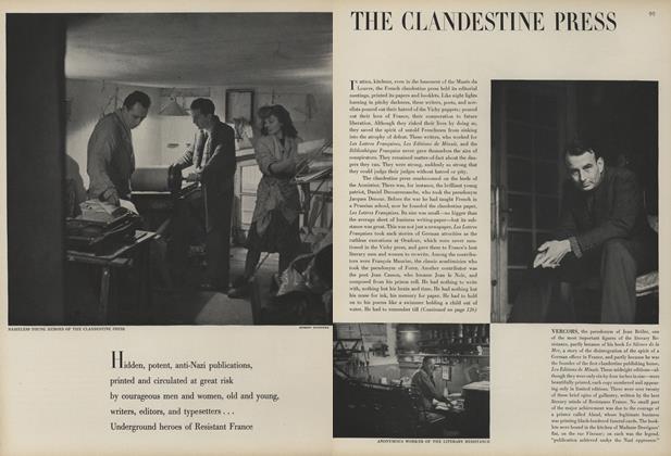 The Clandestine Press