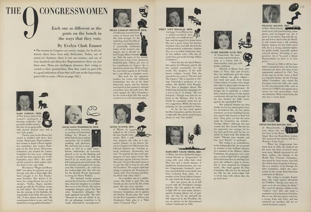 The 9 Congresswomen
