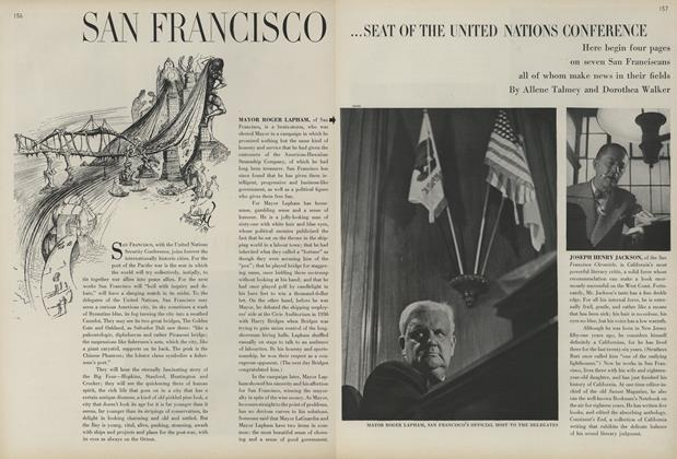 San Francisco...Seat of the United Nations Conference