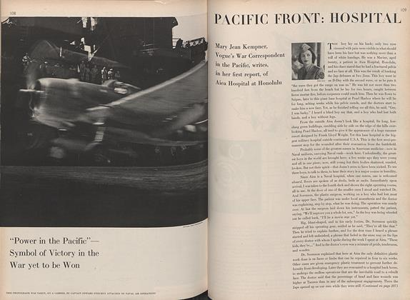 Pacific Front: Hospital