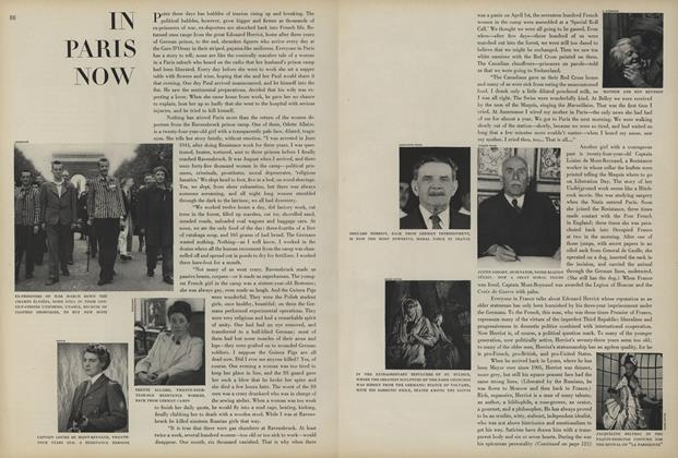 Article Preview: In Paris Now, August 1 1945 | Vogue