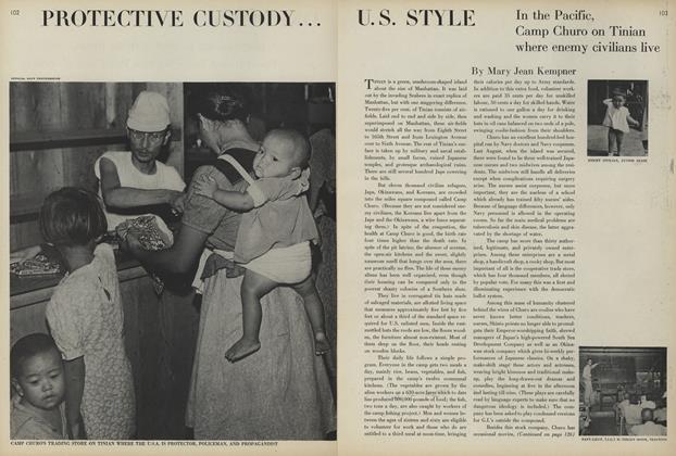 Protective Custody...U.S. Style