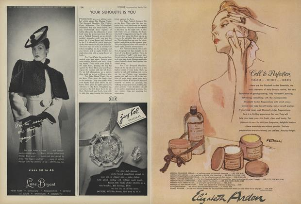 Article Preview: Your Silhouette Is You, August 1 1945 | Vogue
