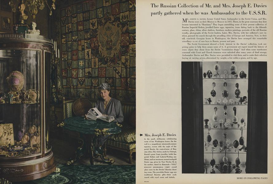 Russian Collection of Mr. and Mrs. Joseph E. Davies