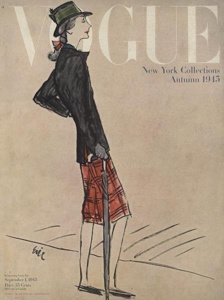 Issue: - September 1 1945   Vogue