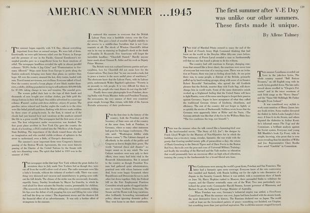 American Summer, 1945