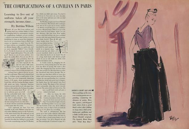 Complications of a Civilian in Paris