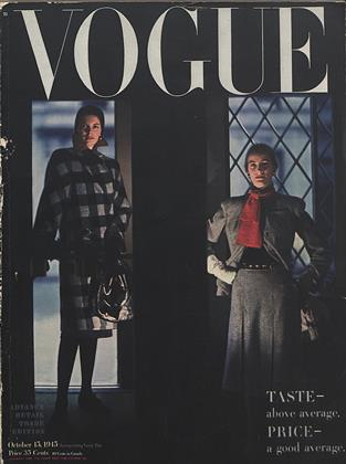 Cover for the October 15 1945 issue