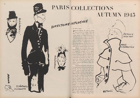 Paris Collections, Autumn 1945