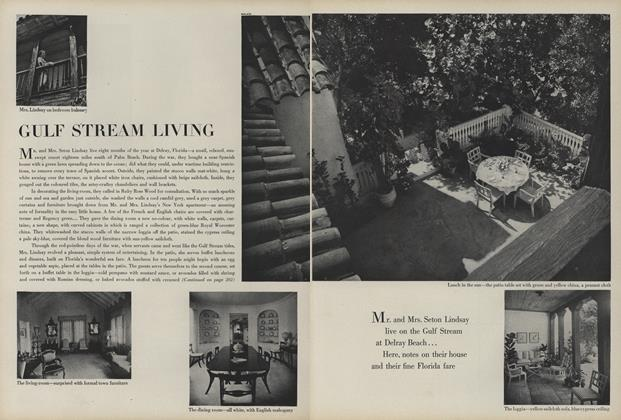 Article Preview: Gulf Stream Living, November 1 1945 | Vogue