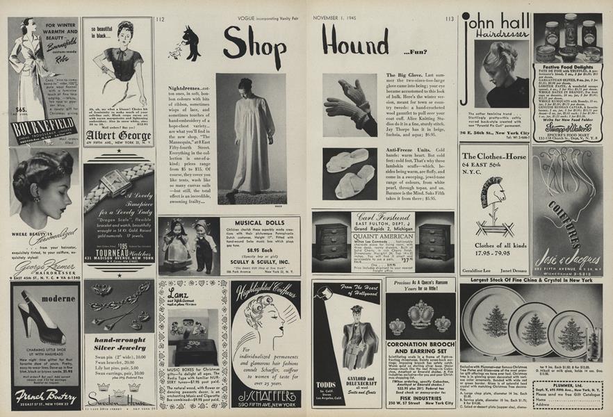 Shop Hound...Fun?