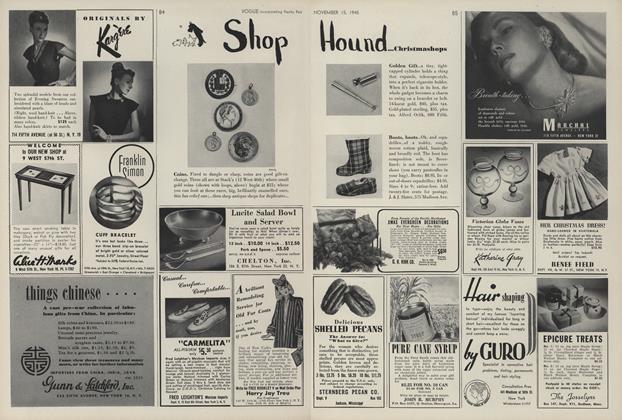 Shop Hound...Christmashops