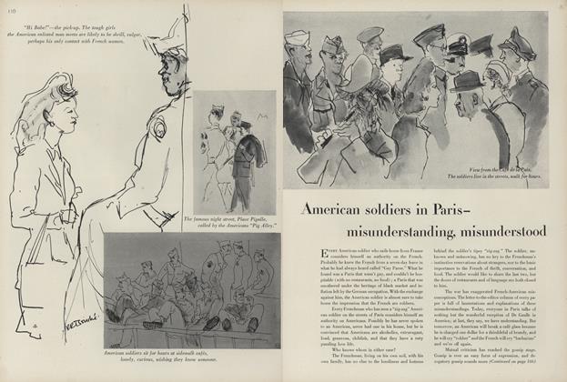 American Soldiers in Paris—Misunderstanding, Misunderstood