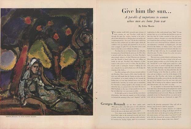 Article Preview: Give Him the Sun..., December 1 1945 | Vogue