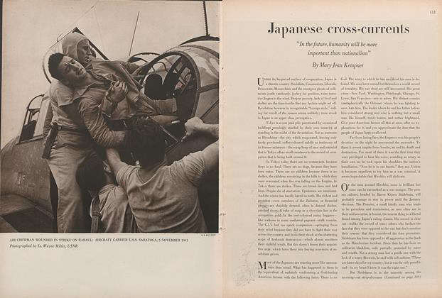 Article Preview: Japanese Cross-Currents, December 1 1945 | Vogue