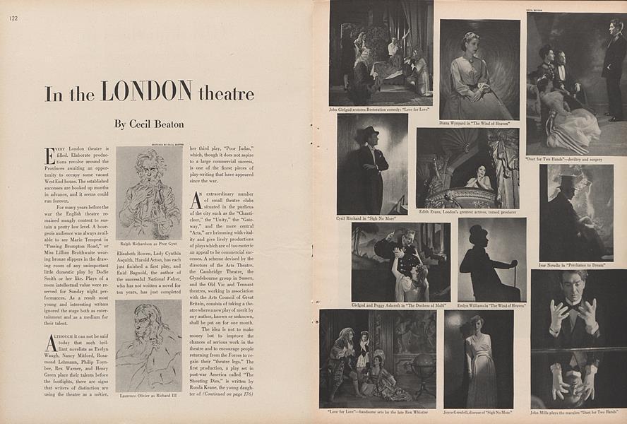 In the London Theatre