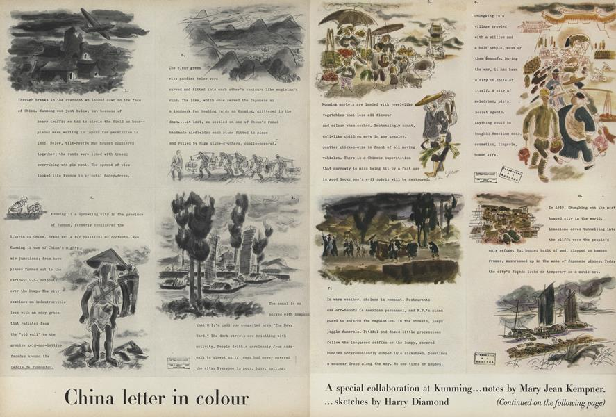 China Letter in Colour
