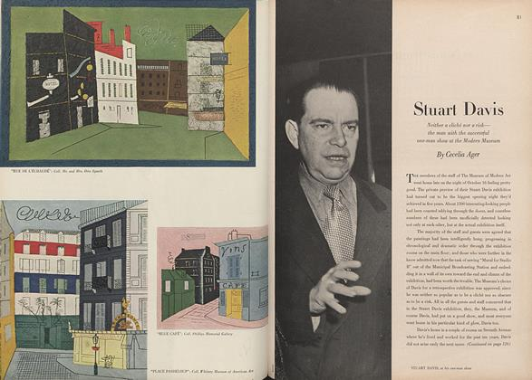 Article Preview: Stuart Davis, January 15 1946 | Vogue