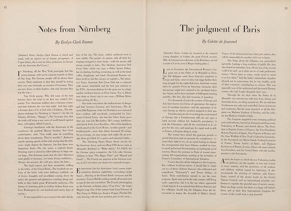Article Preview: The Judgment of Paris, January 15 1946 | Vogue