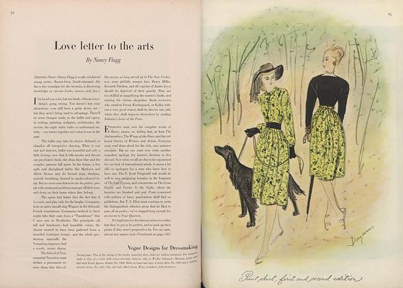Article Preview: Love Letter to the Arts, January 15 1946 | Vogue