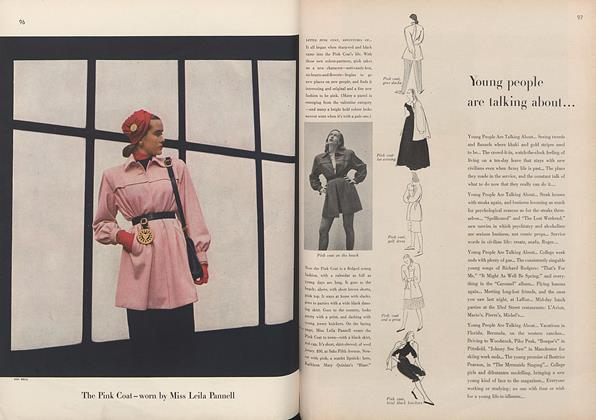 The Pink Coat—worn by Miss Leila Pannell