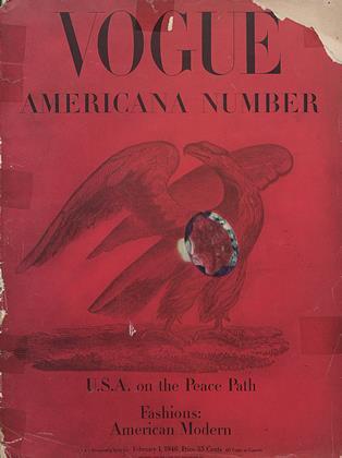February 1, 1946 | Vogue