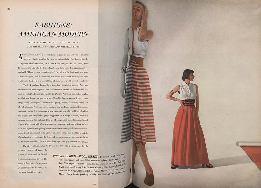 Fashions: American Modern