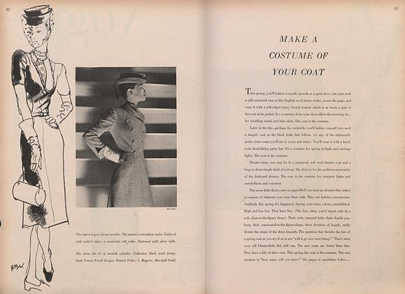 Article Preview: Make a Costume of Your Coat, February 15 1946 | Vogue