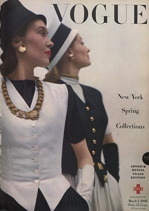 March 1, 1946 | Vogue