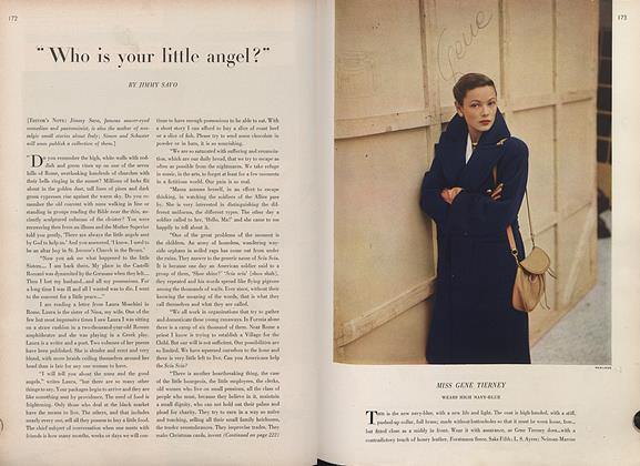 "Article Preview: ""Who is Your Little Angel?"", March 1 1946 