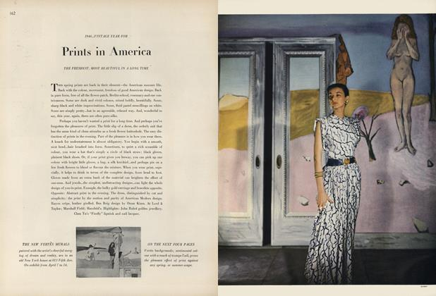 1946...Vintage Year for Prints in America: The Freshest, Most Beautiful in a Long Time