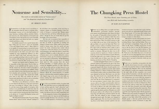 Nonsense and Sensibility