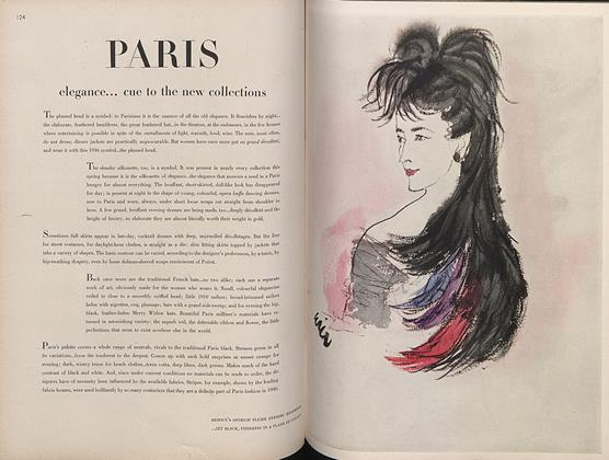 Paris Elegance...Cue To the New Collections