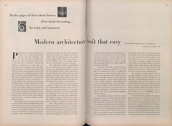 Modern Architecture Isn't That Easy