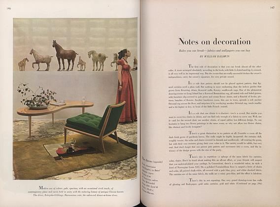 Notes on Decoration