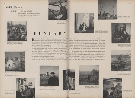 Article Preview: Middle-Europe Album: Hungary, May 15 1946 | Vogue