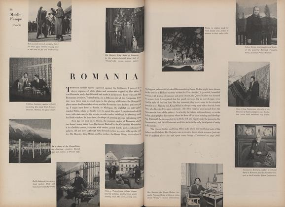 Article Preview: Middle-Europe Album: Romania, May 15 1946 | Vogue