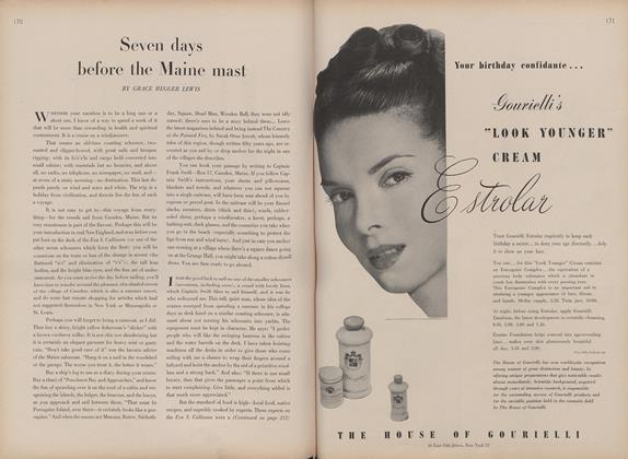 Article Preview: Seven Days Before the Maine Mast, May 15 1946 | Vogue
