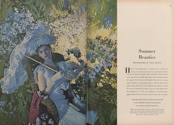 Summer Beauties Photographed by Cecil Beaton