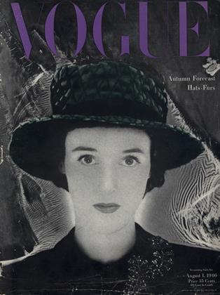 August 1, 1946 | Vogue