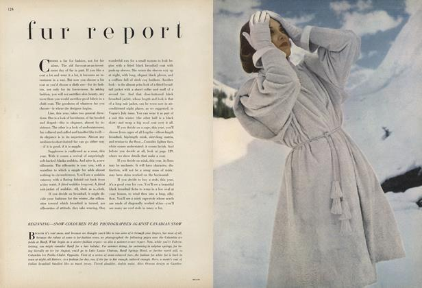 Fur Report