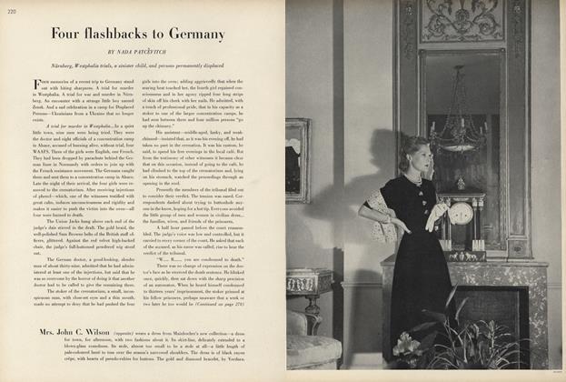 Four Flashbacks to Germany