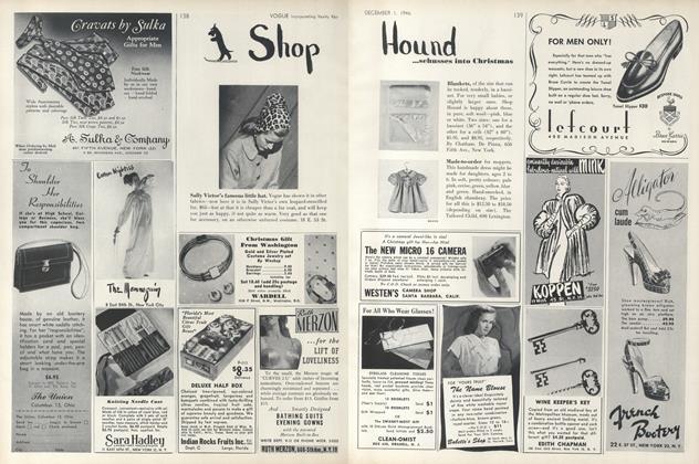 Shop Hound...Schusses into Christmas