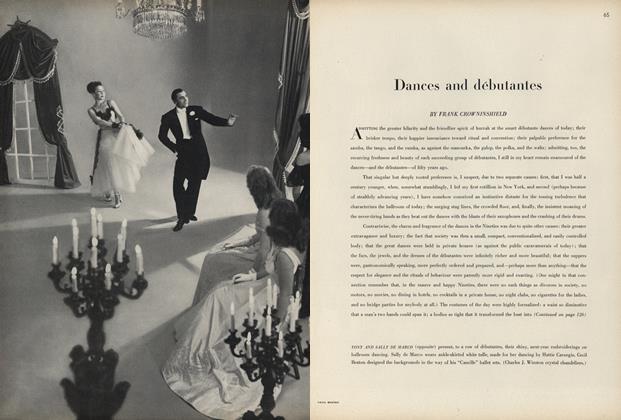 Dances and débutantes