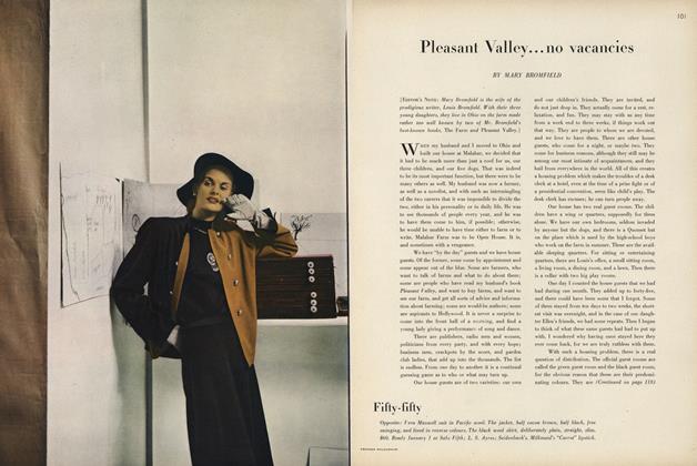 Pleasant Valley...no vacancies