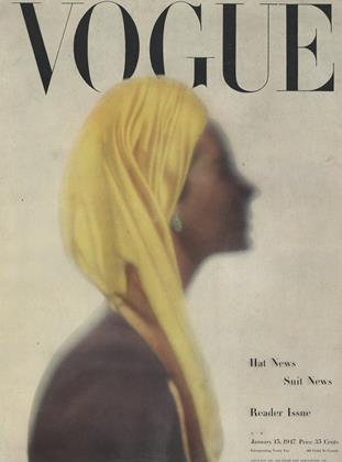 Cover for the January 15 1947 issue