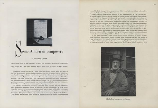 Some American Composers